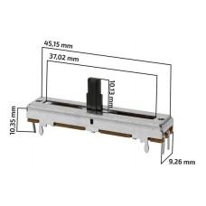 Potenciometro slide 30mm curso mesa de som