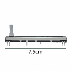 Potenciometro slide 60mm curso mesa de som mackie